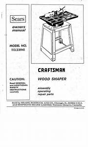 Manuals And Guides 171208  1975 Craftsman 113 23941 Wood