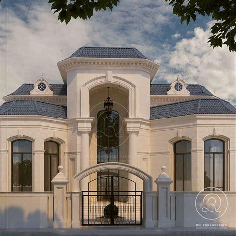 private villa qatar  rde villa qatar exterior architecture rde rdengineering
