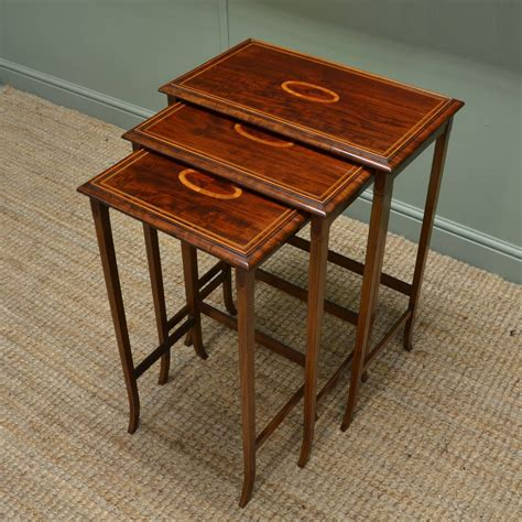 vintage nesting tables antique nest of tables antiques world 3250