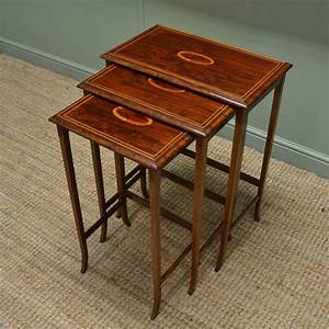 Antique, Nest, Of, Tables