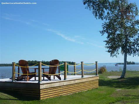 chalet 224 louer saguenay lac st jean henri de taillon chalet maison cottage id 7444