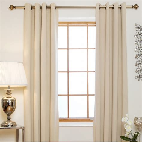 Grommet Top Drapes - blackout curtain grommet top thermal curtain panel