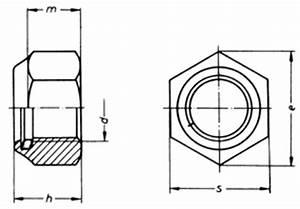 M6 Mutter Maße : nylon insert lock nuts din 985 m6 m24 china fasteners ~ Watch28wear.com Haus und Dekorationen