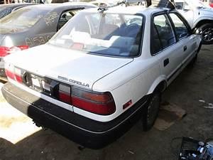 1988 Toyota Corolla Dx  1 6l Auto  Color White  Stk Z15930