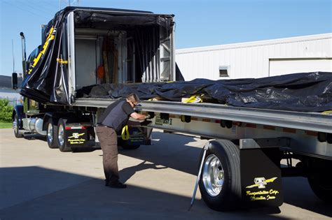 Step Deck Conestoga Carriers by Conestoga Carriers With Service Trailer Pictures To Pin On