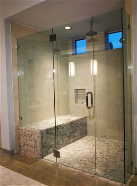 single shower doors  purpose glazing