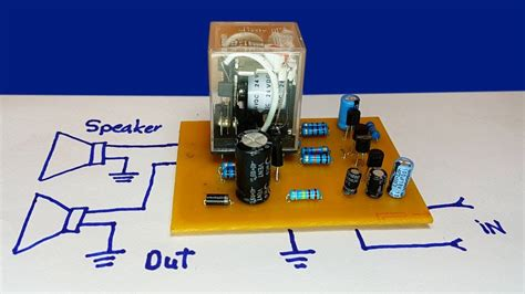 speaker protector circuit  dc protection