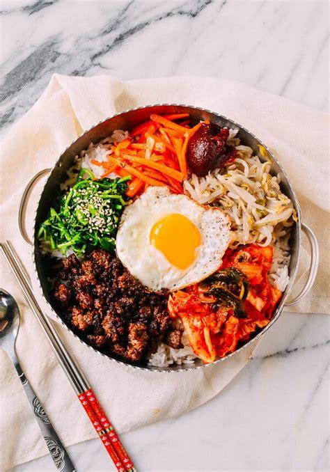 bibimbap recipe easy korean beef bibimbap recipe the woks of life