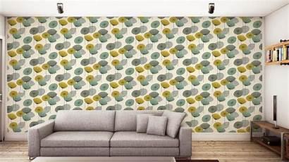 Sanderson Dandelion Clocks Options Wallpapers Chaffinch