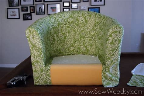 ikea tullsta chair cover diy recovering the ikea tullsta chair furniture fabrics and