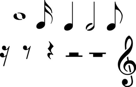 Modern musical symbols are the marks and symbols that are widely used in musical scores of all styles and instruments today. Musical Rest Symbol - ClipArt Best