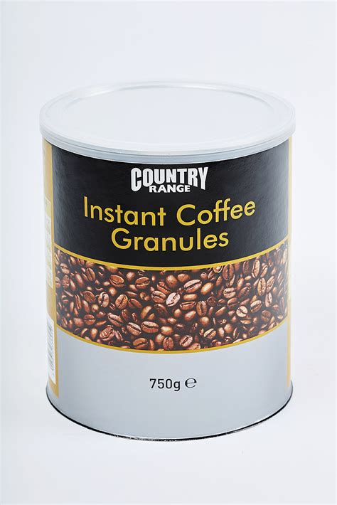 Let's take a closer look at this quick coffee option that has. Country Range Instant Coffee Granules 750 g - Country Range