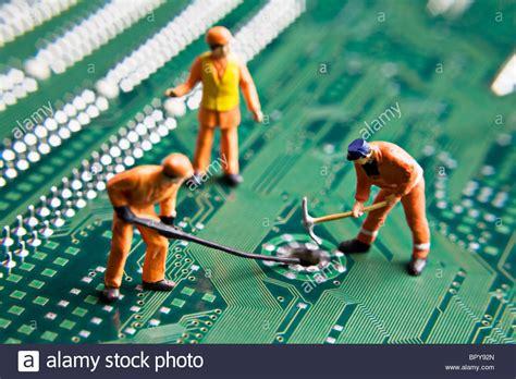 Circuit Board Repair Stock Photos