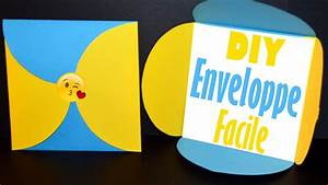 Comment Fabriquer Une Enveloppe : comment fabriquer une jolie enveloppe facile et rapide ~ Melissatoandfro.com Idées de Décoration