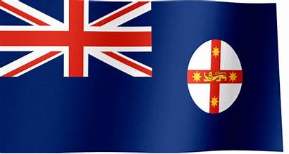 Flag Wales South Turks Caicos Islands Waving