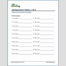 Grade 2 Multiplication Worksheets  Free & Printable  K5 Learning