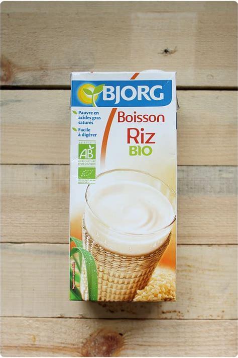 lait de riz maison boisson lait de riz