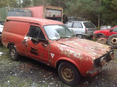 ford escort mk van  located  bala north