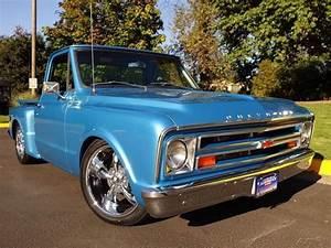 1968 Chevrolet C10 Pickup Marina Blue Black Tmi Seat Pkg