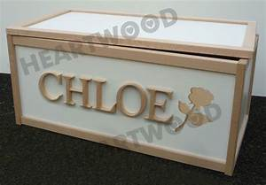 toy box with 6 free letters rose shape wooden storage With toy box letters