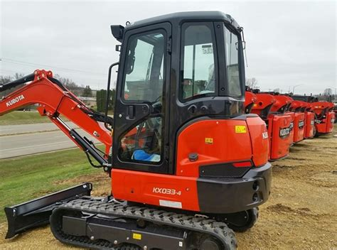 2019 Mini For Sale by 2019 Kubota Kx033 4 Excavator Mini For Sale 187 Roeder