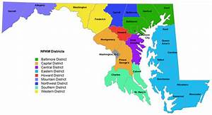 Maryland Voting Districts Map 2016 | afputra.com