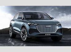 Audi zeigt kompaktes ElektroautoSUV Q4 etron Bilder