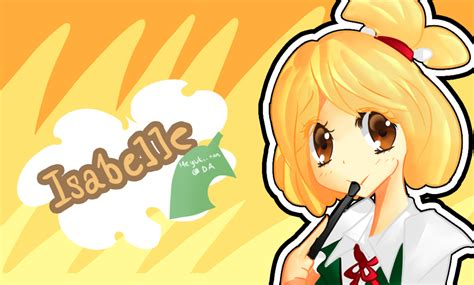 Isabelle Animal Crossing Wallpaper - animal crossing isabelle by meiryuki on deviantart