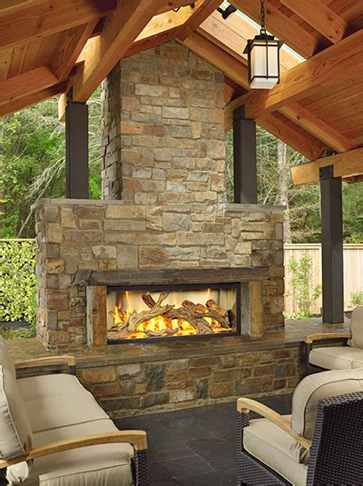 outdoor fireplaces pits outdoor features