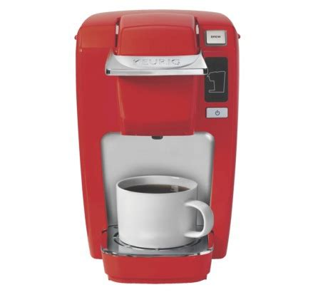 I frequently left the house without my morning coffee because there wasn't time to wait for the pot to. http://www.target.com/p/keurig-k10-mini-plus-brewer/-/A-15120201?ref=tgt_adv_XSG10001&AFID ...