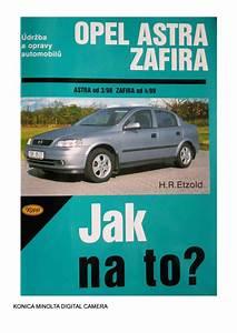 Jak Na To Opel Astra G Zafira Pdf  38 9 Mb