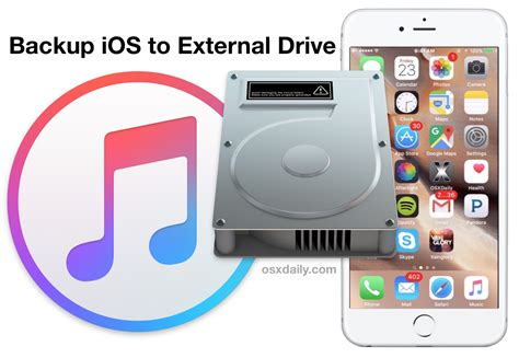 backup iphone to external drive how to backup an iphone to external drive with mac os x 1099