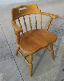 uhuru furniture collectibles sold wood captain s chair 10