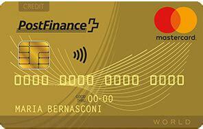 postfinance mastercard gold moneylandch