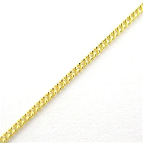 sterling silver tiny curb chain   foot