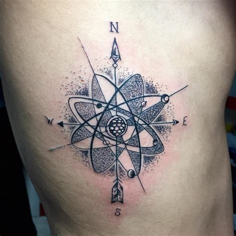 35 Atomic Tattoo Designs & Meanings  Secrets Of The