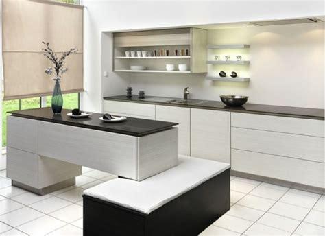 plan de travail cuisine blanche cuisine blanche avec plan de travail noir 73 idées de