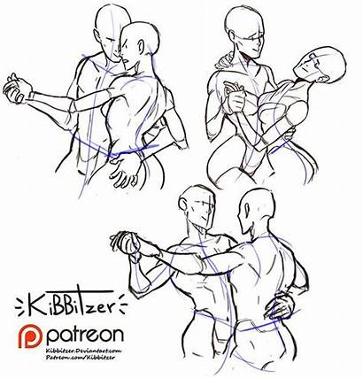 Poses Couple Drawing Reference Kibbitzer Dance Patreon