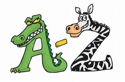 Animal Letters Alphabet Clipart Books Lovetoknow Preschool