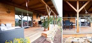 überdachte Terrasse Holz : fertighaus m1 holzhaus mit pultdach und berdachter terrasse pichler haus gleisdorf ~ Whattoseeinmadrid.com Haus und Dekorationen