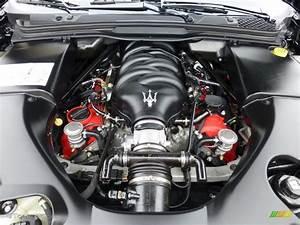 2010 Maserati Granturismo Convertible Grancabrio Engine
