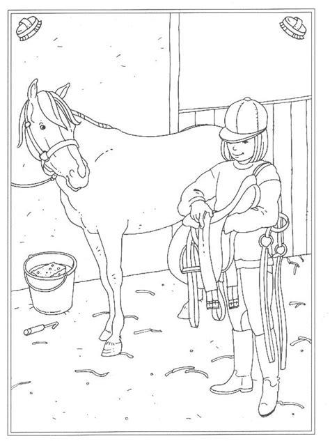 Kleurplaat Paarden Manege by Kleurplaten En Zo 187 Kleurplaat Afzadelen