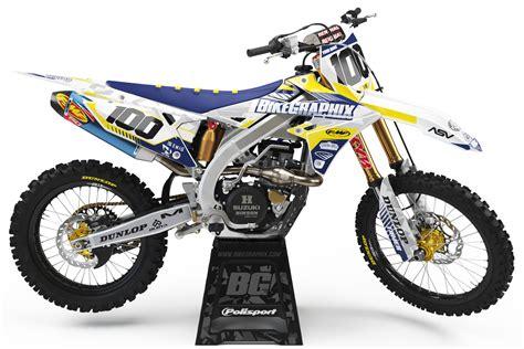 Suzuki Method by Suzuki Method Semi Custom Motocross Graphic Bikegraphix