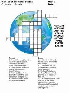 Planet Research Crossword Puzzle for Planets and Solar ...