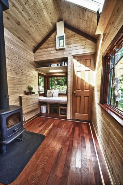 tiny home interior yan 39 s tiny tack house based on tumbleweed fencl open house