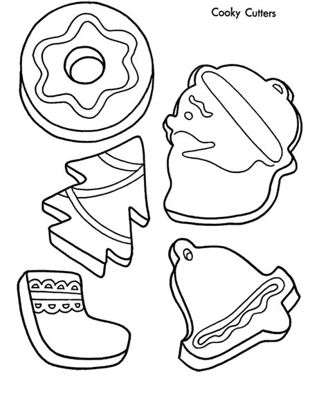 Satisfying christmas cookies | the graceful baker. Christmas treats coloring pages download and print for free