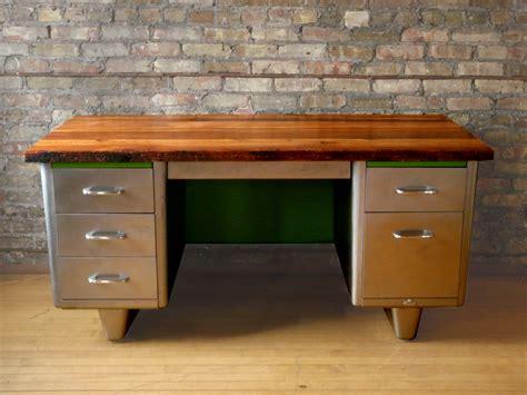 restoration hardware metal desk reclaimed wood steel desk modified llc