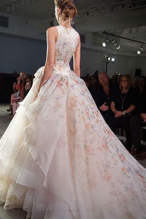 ideas  floral wedding dresses  pinterest