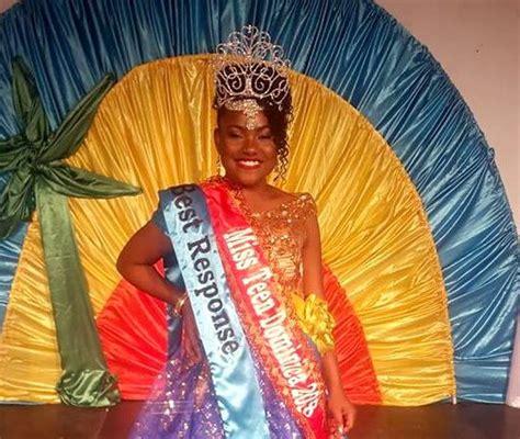 Miss Teen Dominica 2018 Kairi Fm