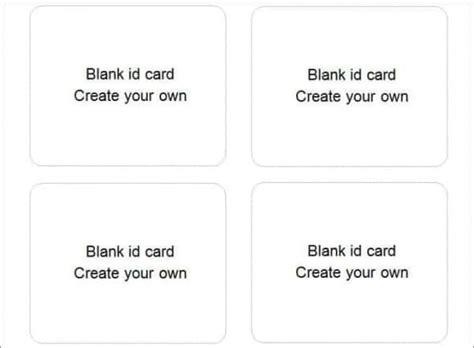 Best Templates: 31+ Blank ID Card Templates PSD Ai